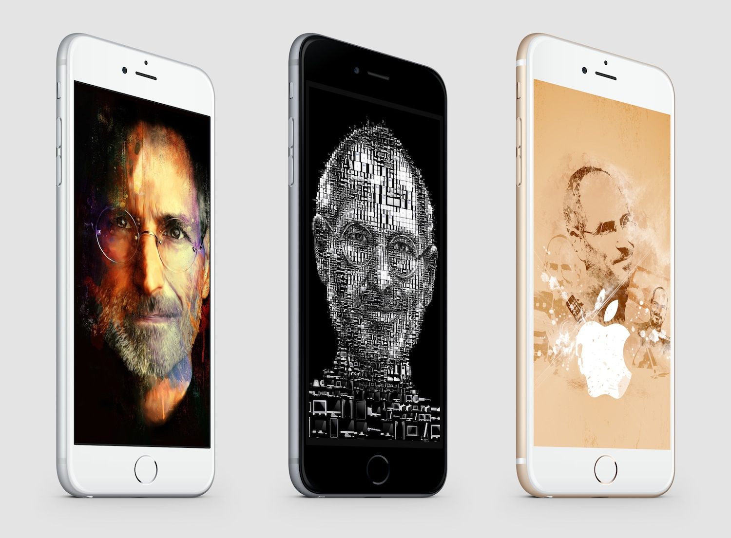 Steve Jobs Tribute iPhone 6 splash 2