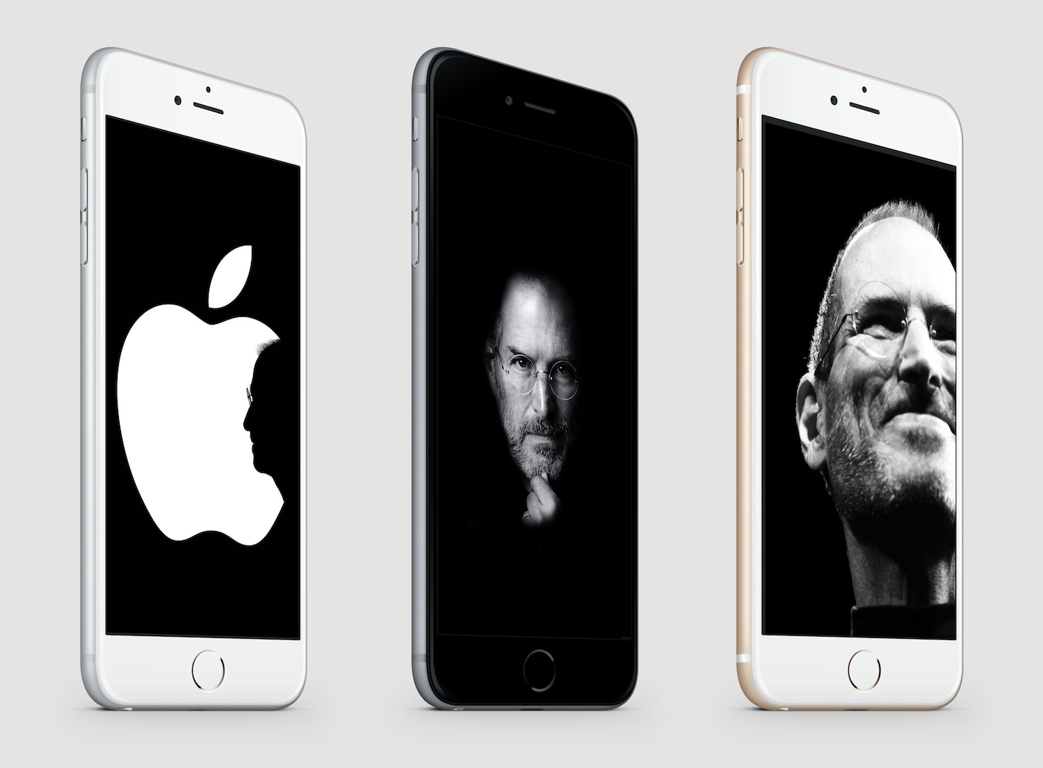 Steve Jobs Tribute iPhone 6 splash