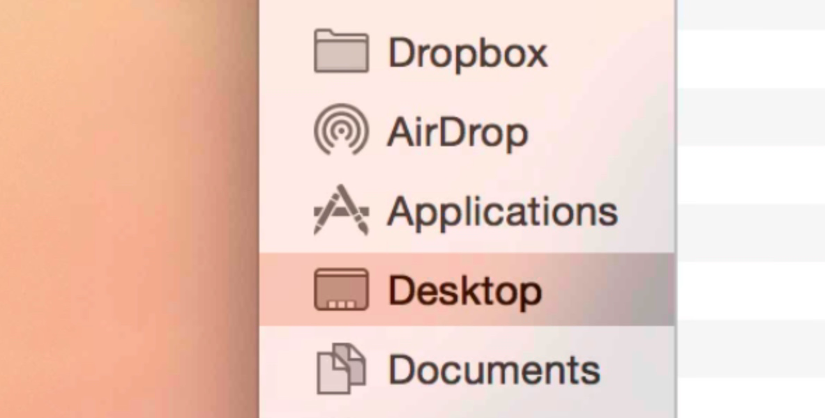 Translucency OS X Yosemite