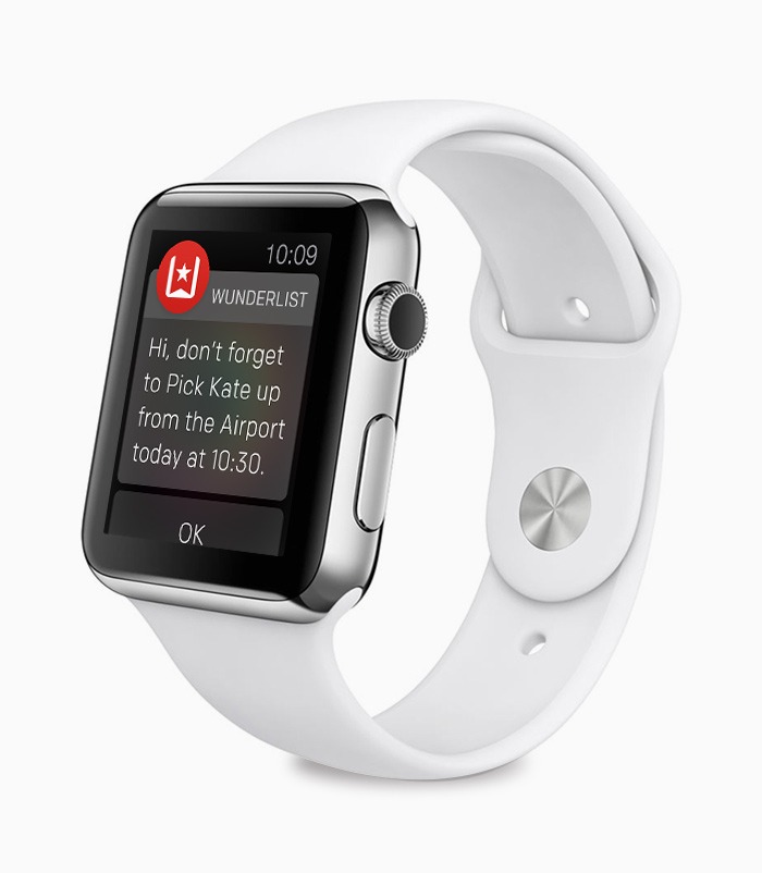 Wunderlist para Apple Watch (teaser 001)