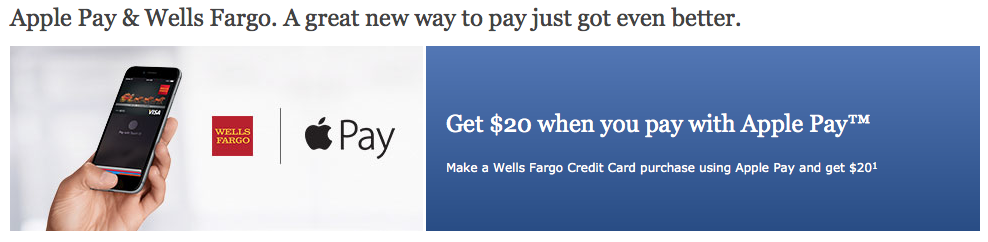 apple pay wells fargo