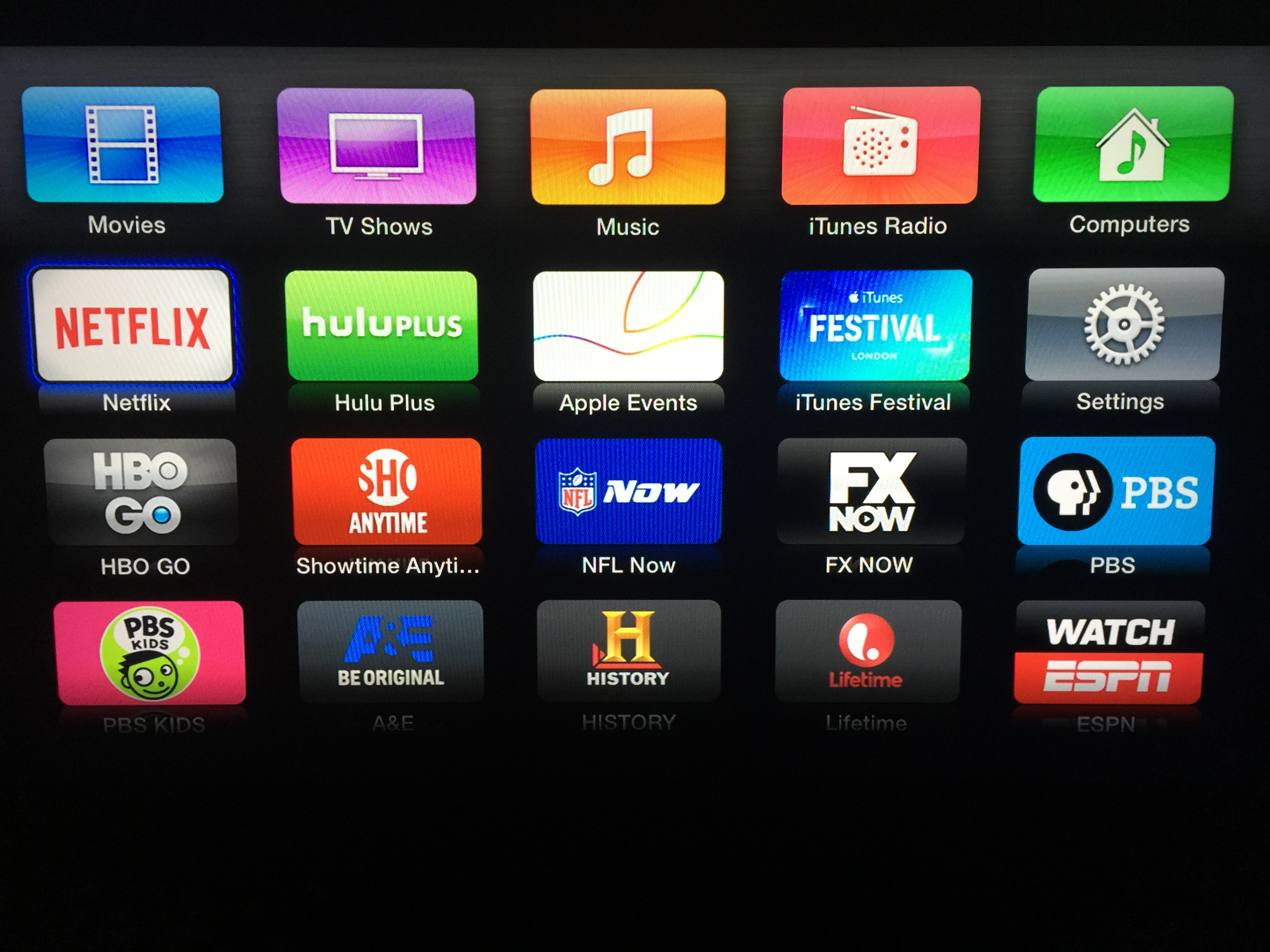 apple tv channel