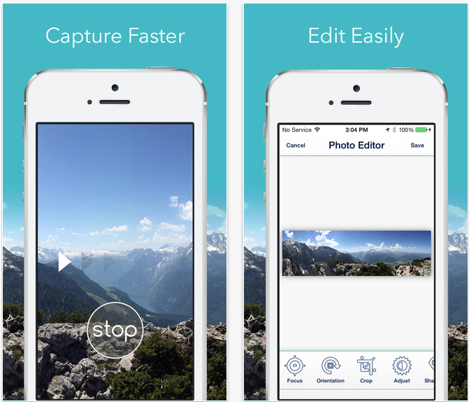 Cycloramic For Iphone 6 Utilizes Power Adapter To Capture 360 Degree