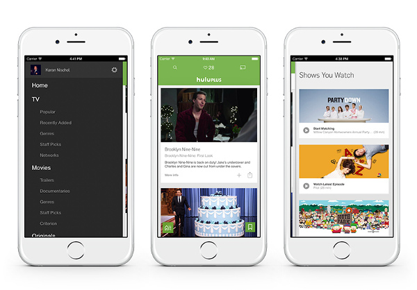 Hulu Plus app updated with new design, in-app ...