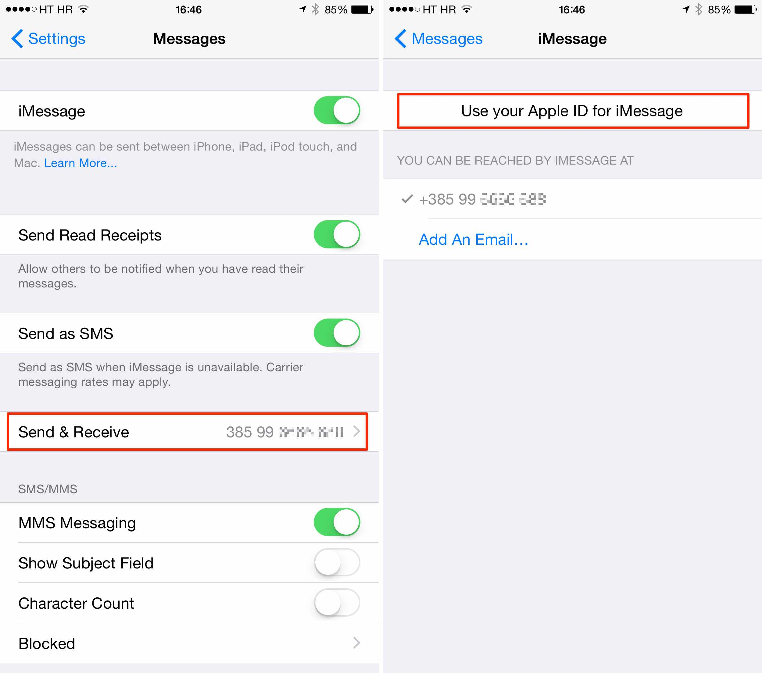 how to forward text msg on iphone