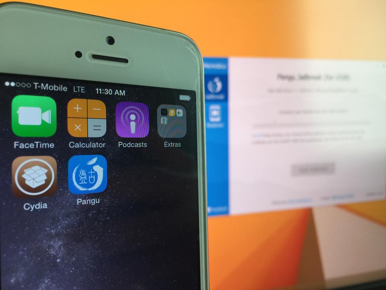 iOS 8 jailbreak pangu 1.1