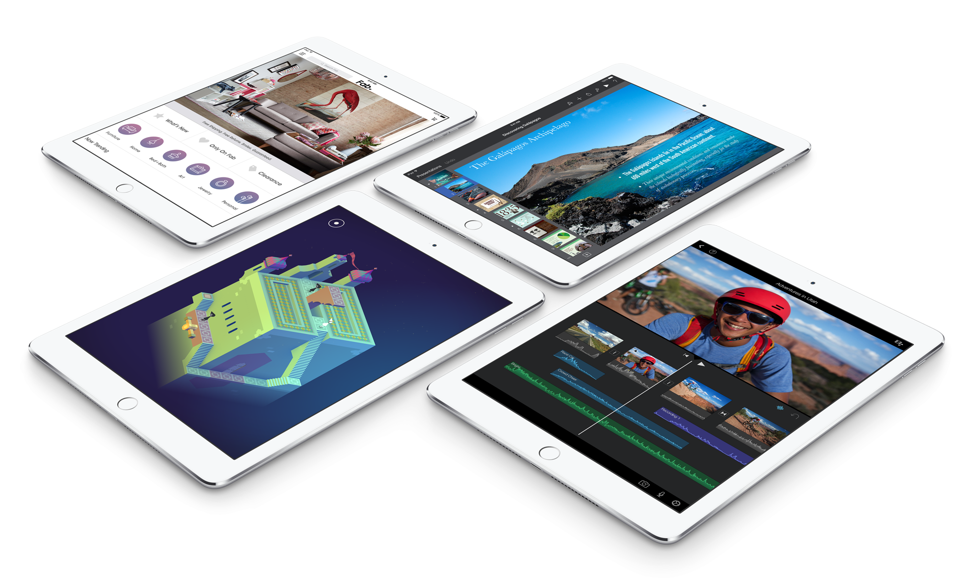 iPad Air 2 apps