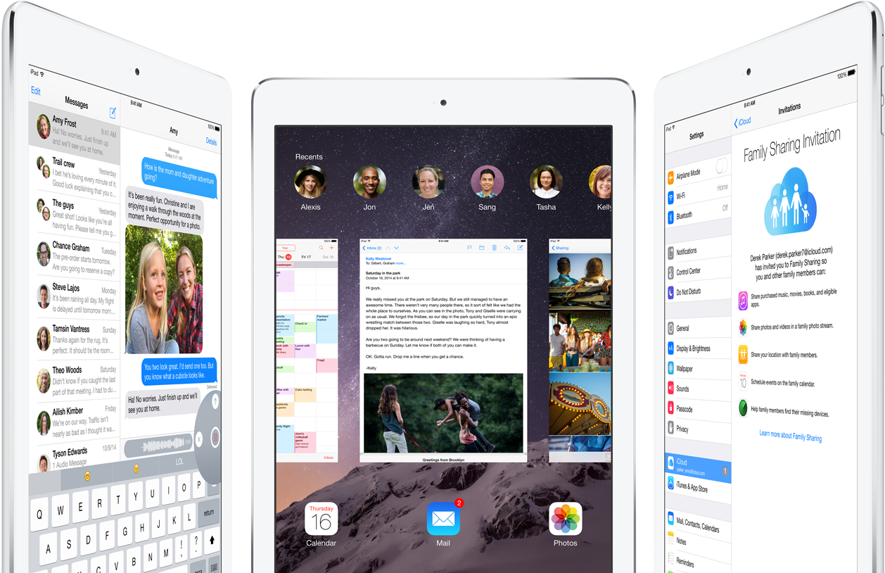 iPad Air 2 ios 8