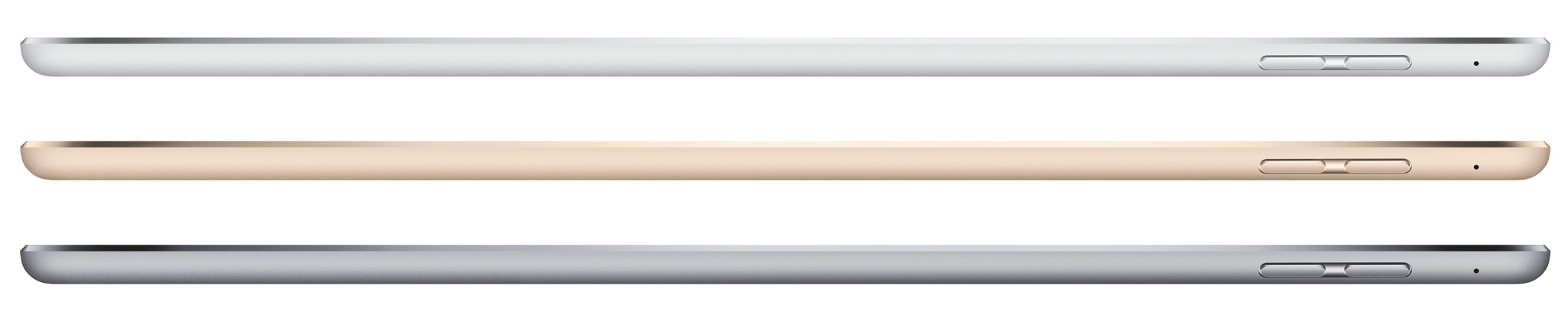 iPad Air 2 (profile 001, Space Gray, Silver, Gold)