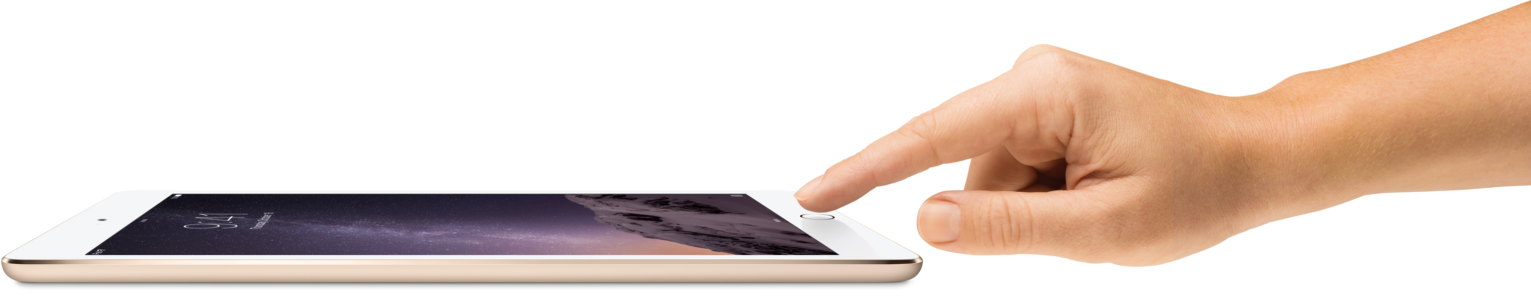 iPad Air 2 touch id gold