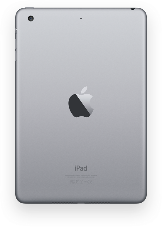 iPad mini 3 gray back iDownloadBlogcomIpad 3 Back Png