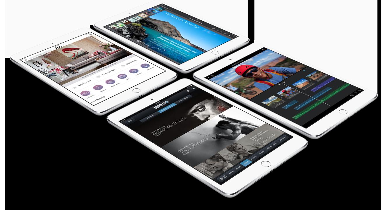 iPad mini 3 silver 4 units