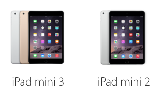 iPad mini 3 vs iPad mini 2