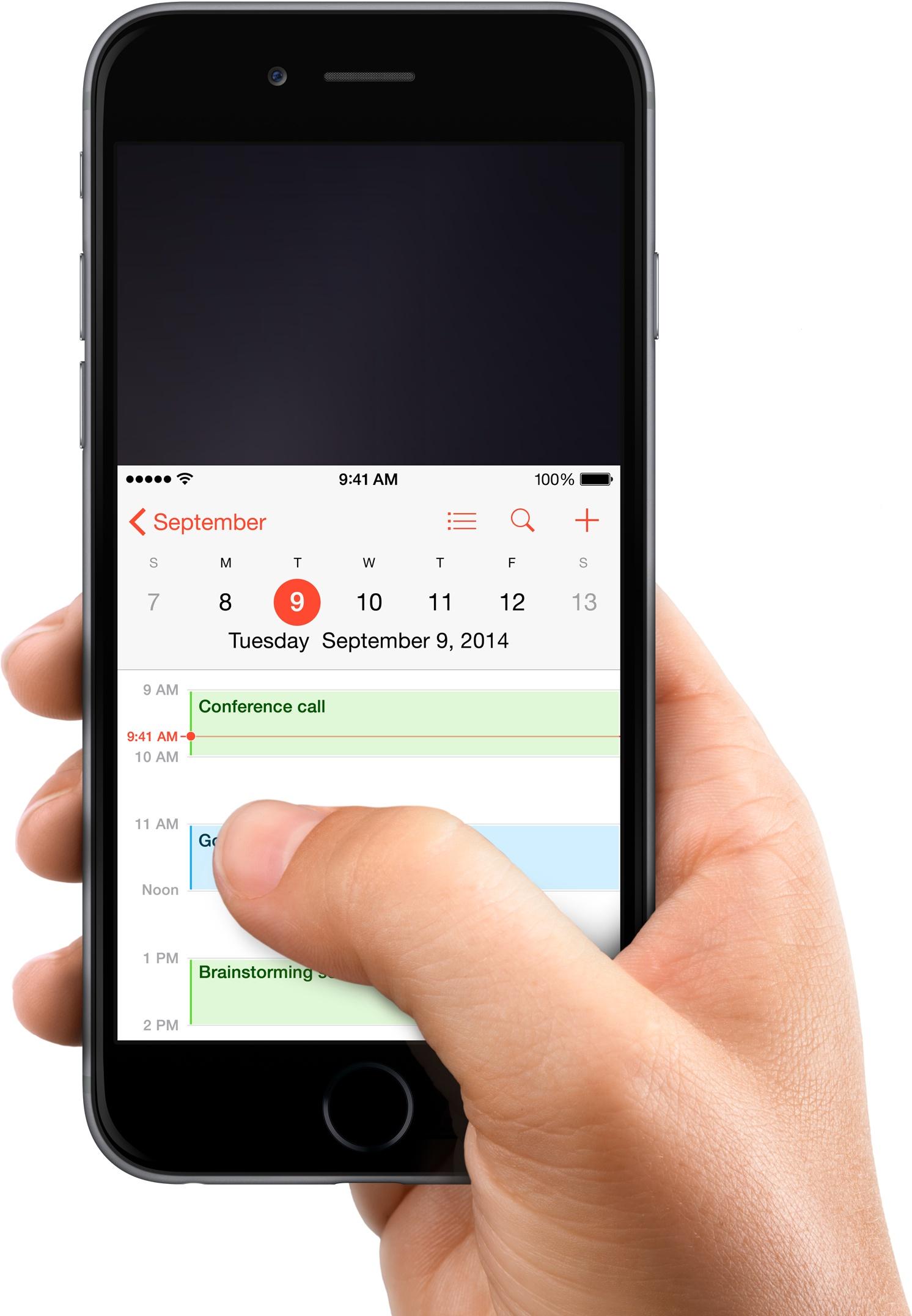 iPhone 6 Plus (Reachability 001)
