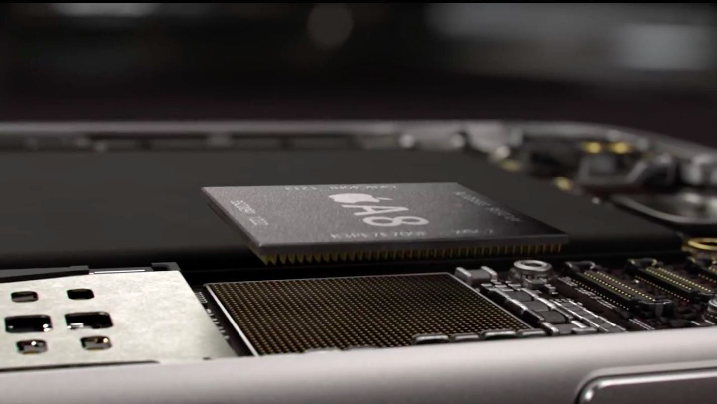iPhone 6 promo video (A8 chip 001)