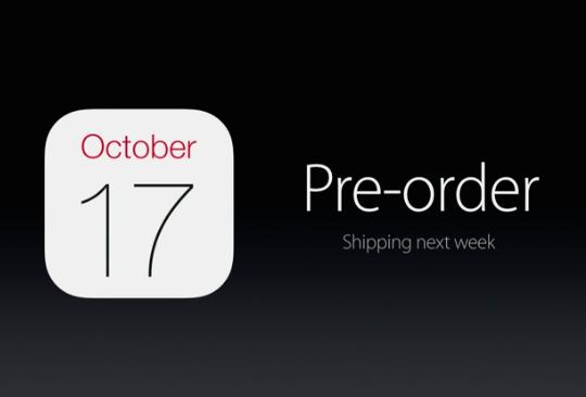 ipad pre-order date