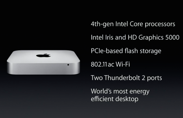 new Mac Mini specs