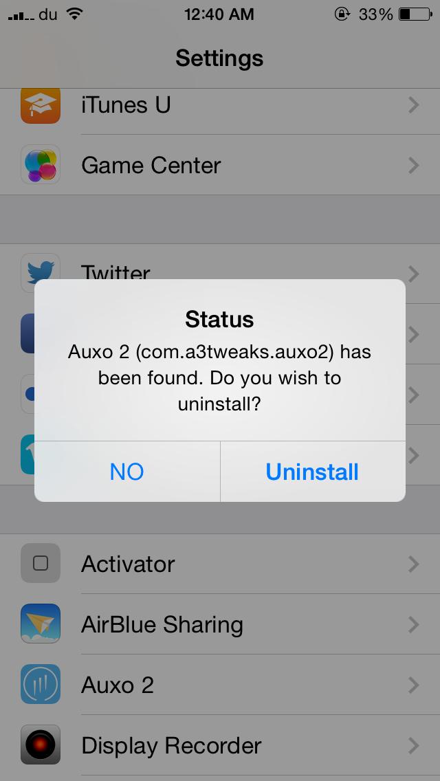 PrefDelete: delete tweaks directly from the Settings app