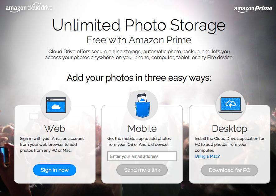 Amazon Cloud Photos (unlimited storage 001)