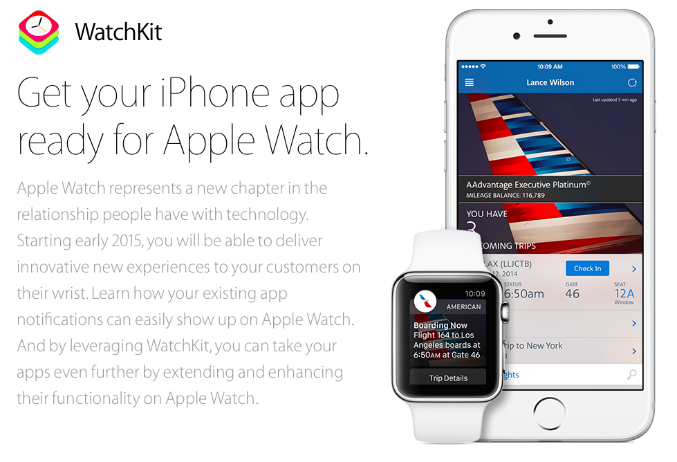 Apple Watch (Watchkit teaser 001)