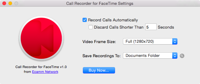 Call Recorder 1.0 for Mac (teaser 005)