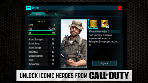 Call of Duty Heroes 1.0 for iOS (iPhone screenshot 003)