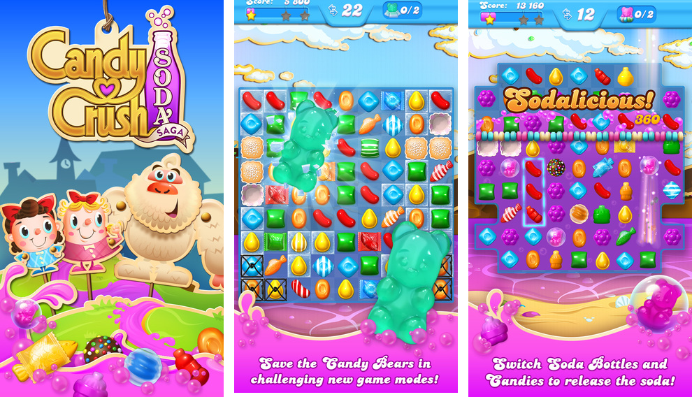 Candy Crush Soda Saga 1.0 for iOS (iPhone screenshot 001)