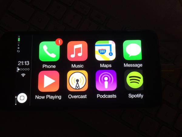 CarPlay iPhone 6 plus