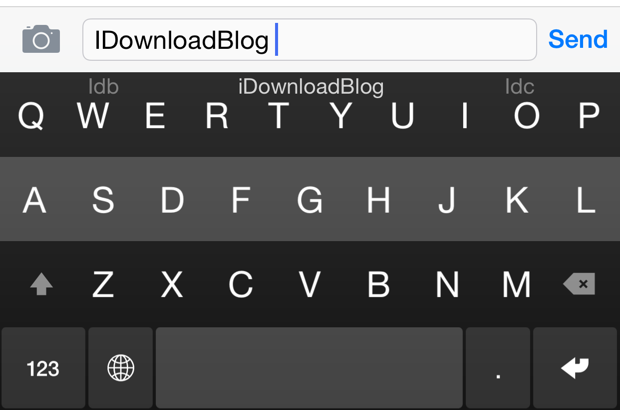 Fleksy Keyboard (Keyboard shortcusts 001)
