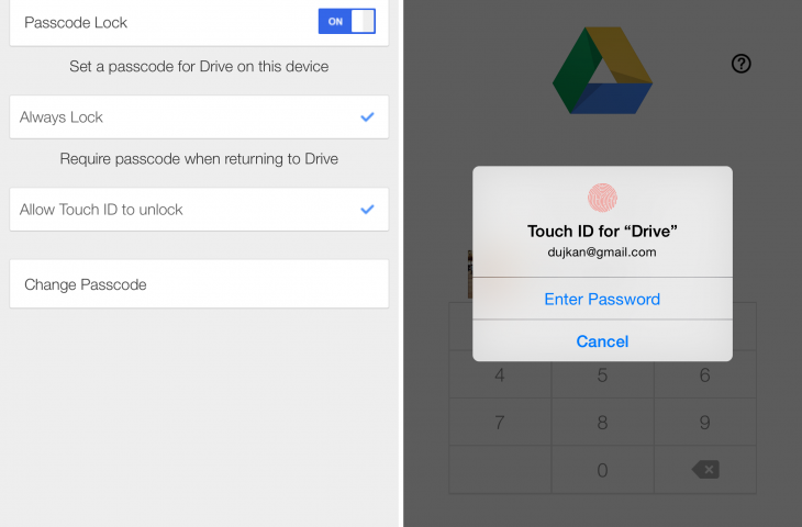 Google Drive for iOS now lets you upload files from other apps and cloud services
