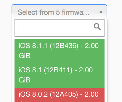 How to reliably check Apple's firmware signing window