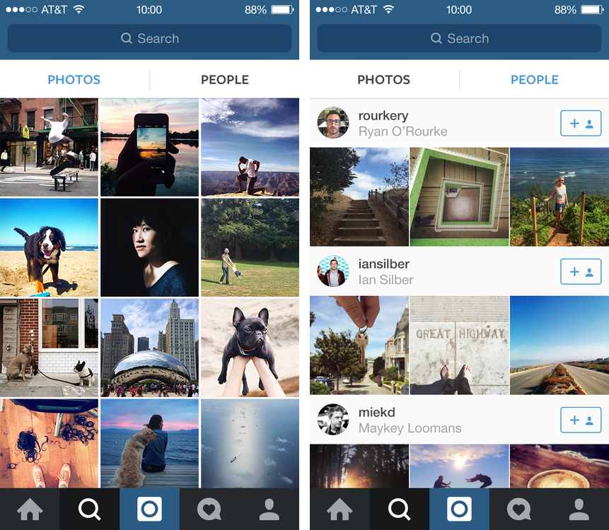 Instagram 6.2 for iOS (iPhone screenshot 001)