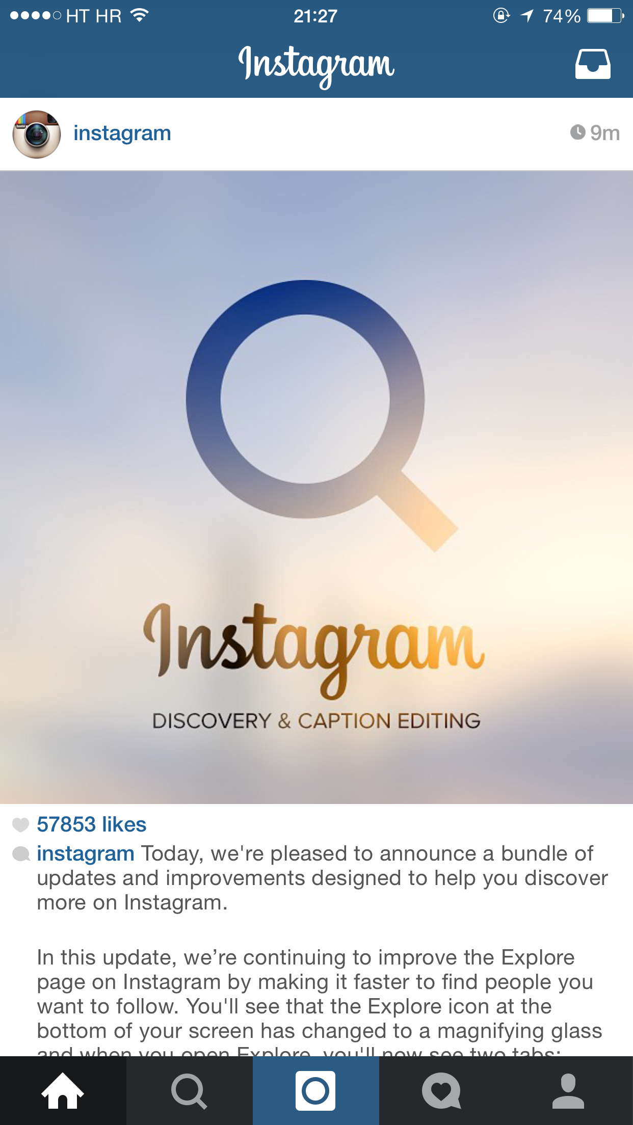 Instagram Updated With Caption Editing, People Finder