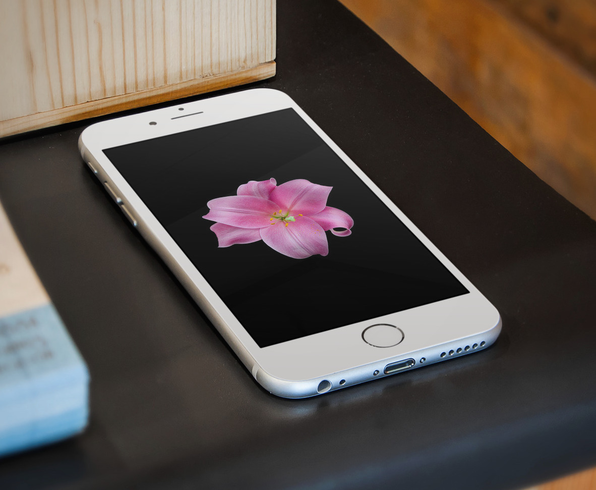 IOS 8 Style Flowers Wallpapers For IPhone