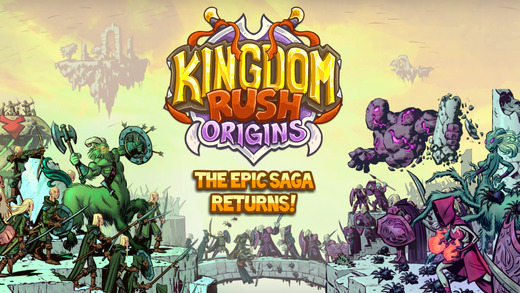 Kingdom Rush Origins 1.0 for iOS (iPhone screenshot 001)