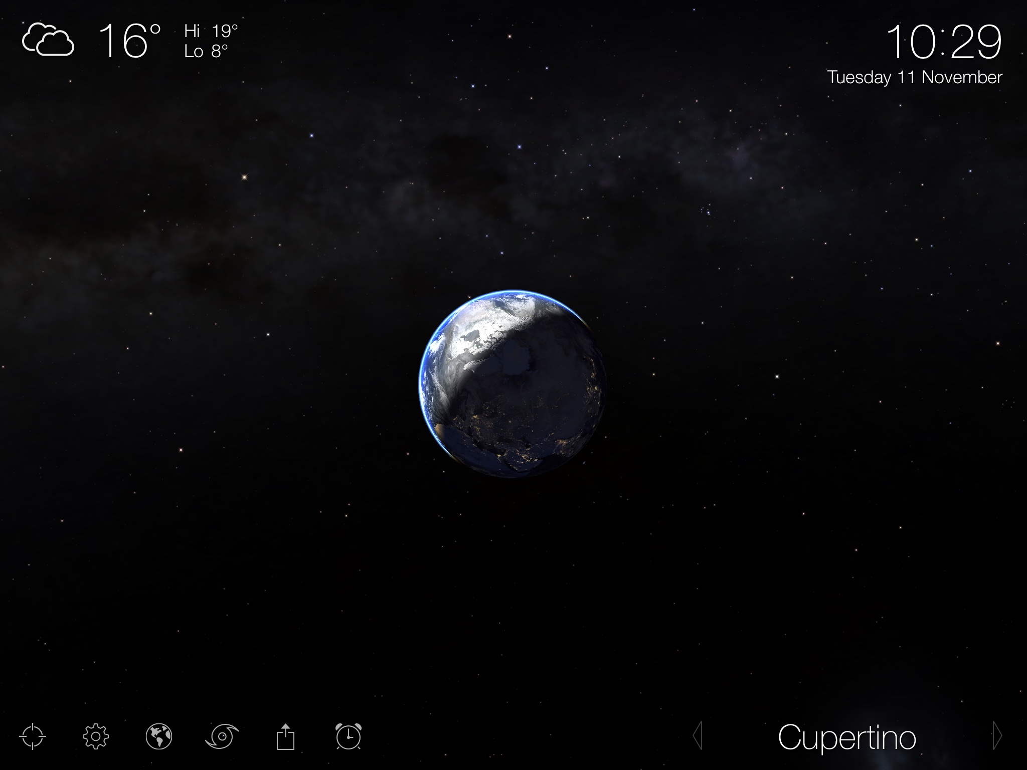 Lioving Earth 3.5 for iOS (iPad screenshot 001)