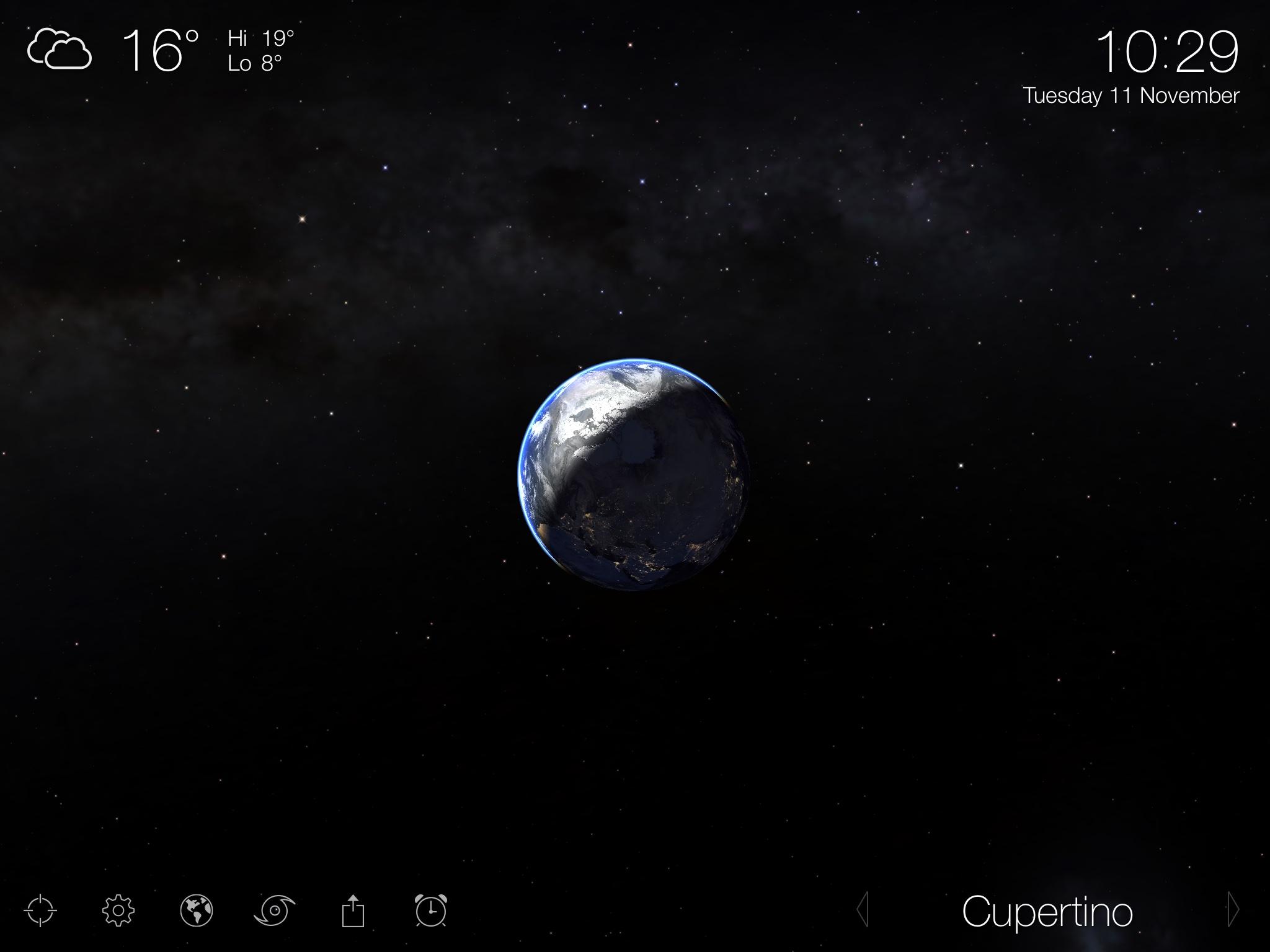 Lioving Earth 3.5 para iOS (captura de pantalla 001 del iPad)