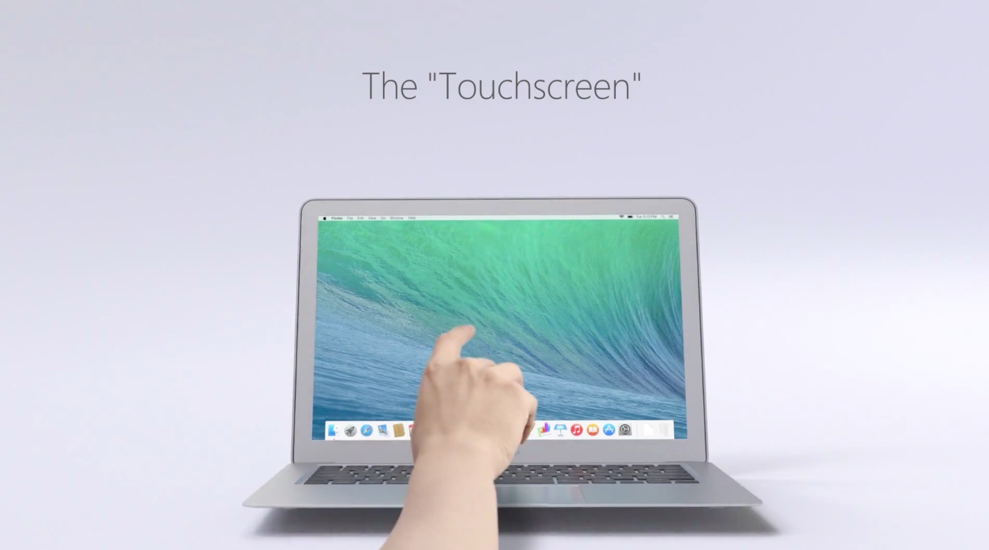 Microsoft ad (Lenovo Yoga 3 Pro vs MacBook Air)