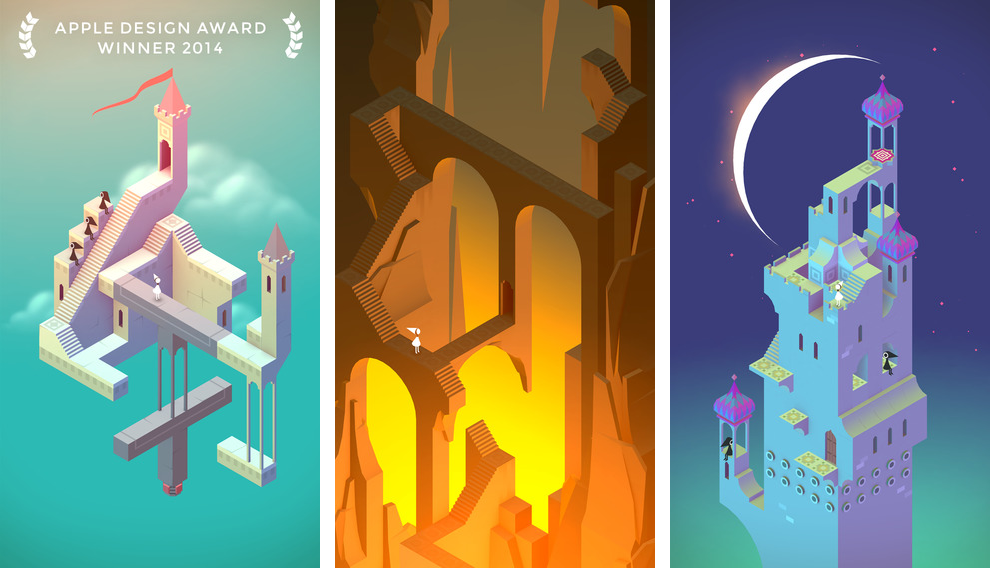 Monument Valley 2.0 for iOS (iPhone screenshot 001)