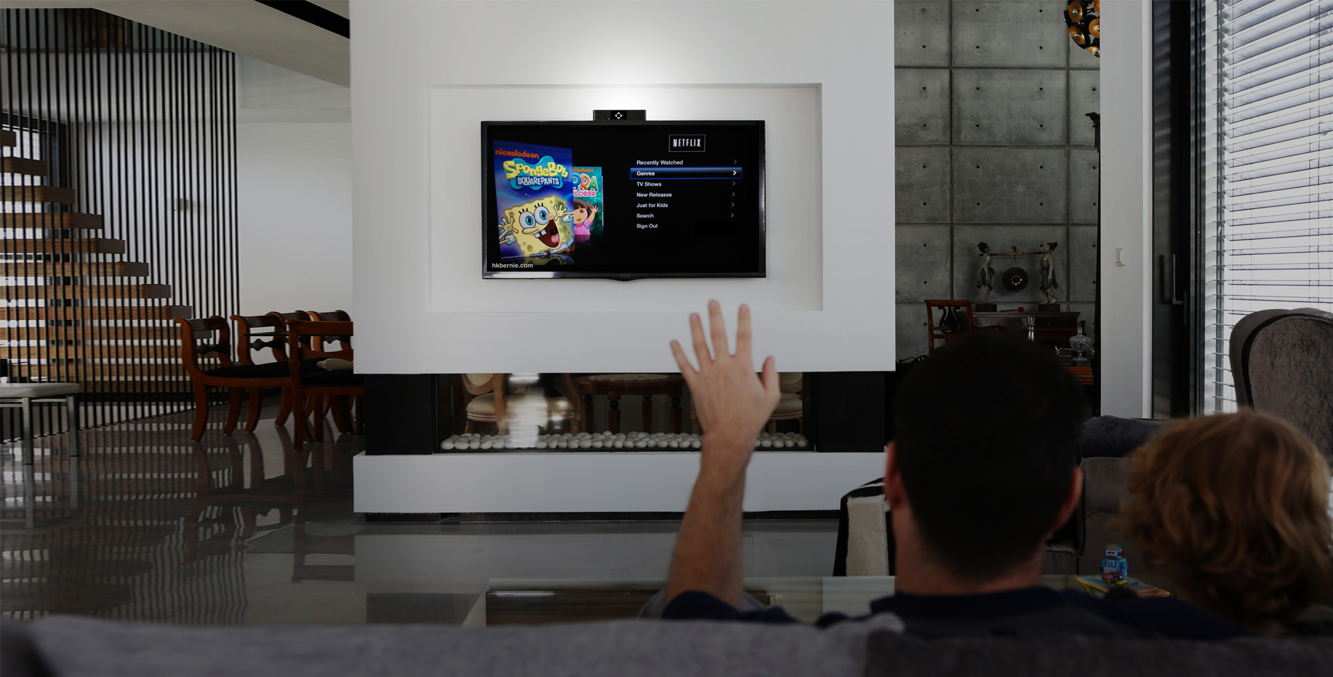onecue adds motion gestures to your apple tv and lets you. Black Bedroom Furniture Sets. Home Design Ideas
