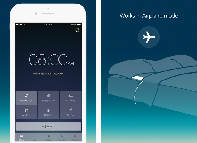 Runtastic Sleep Better 1.0 for iOS (iPhone screenshot 001)