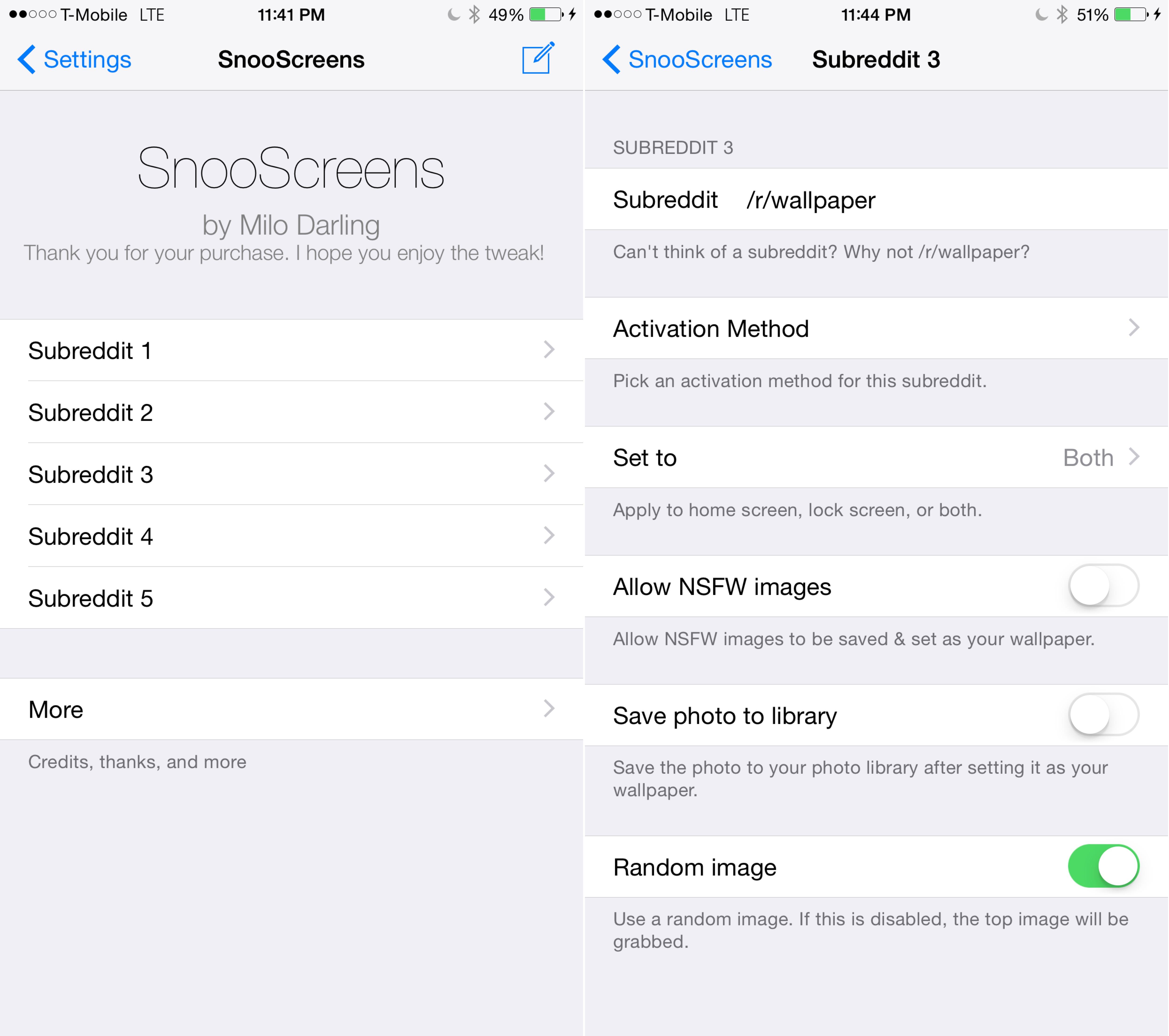 SnooScreens