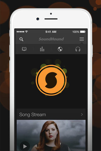 SoundHound 6.3 for iOS (iPhone screenshot 001)