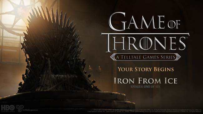 Telltale Games Game of Thrones (teaser 001)