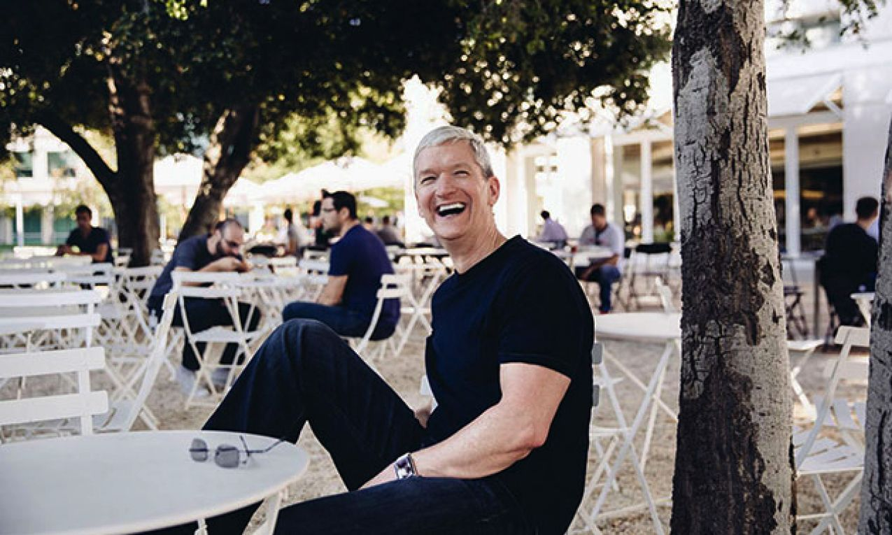 Tim Cook biceps