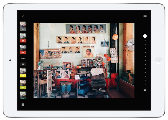 VSCO Cam 4.0 for iOS (iPad screenshot 001)