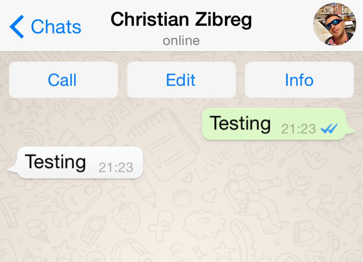 WhatsApp (leer recibo 001)