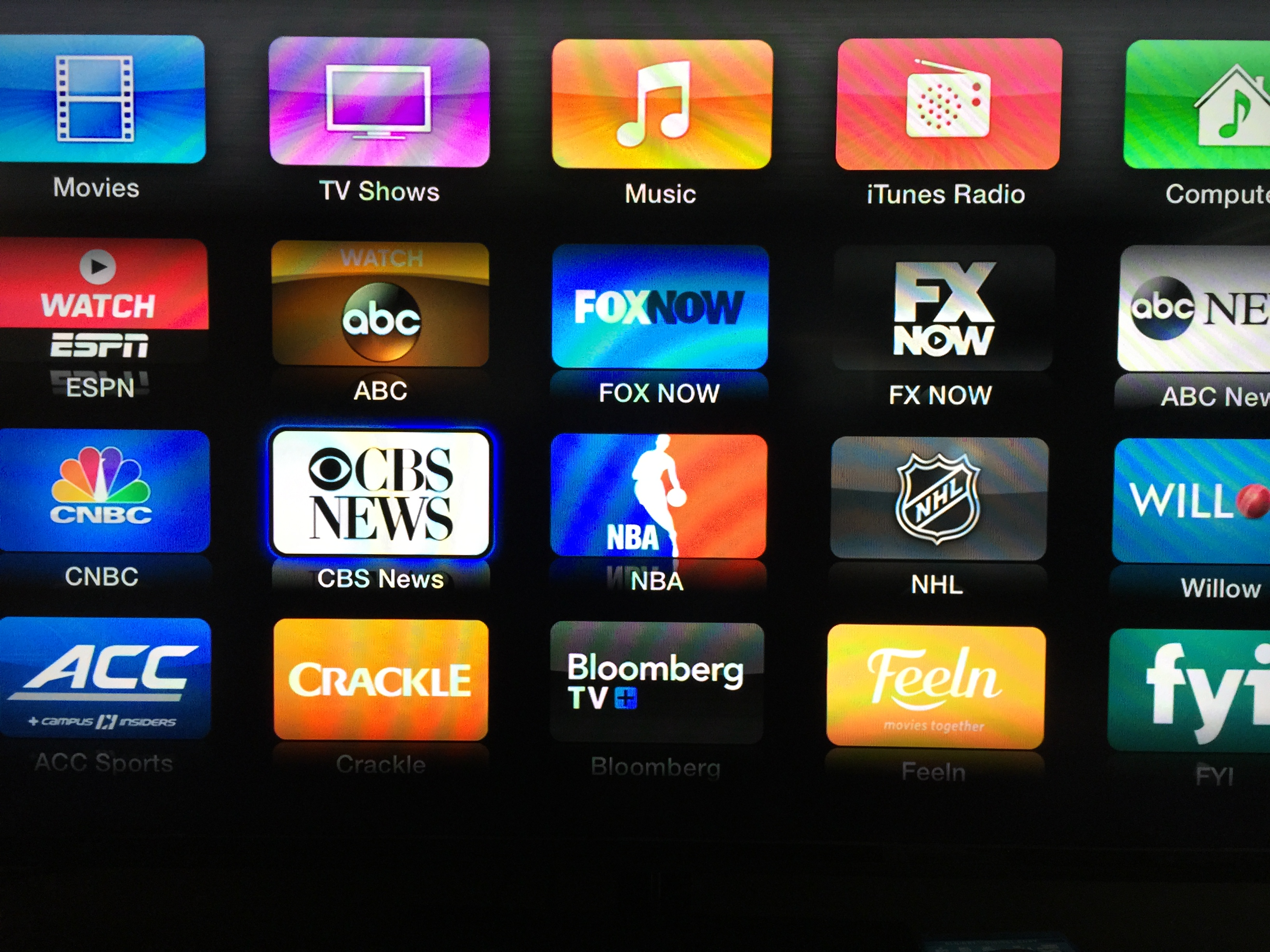 1 channel apple tv download