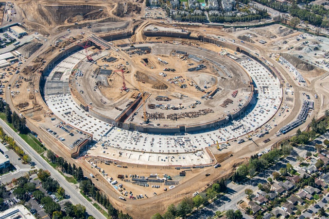 iSpaceship (Aerial, City of Cupertino 002)