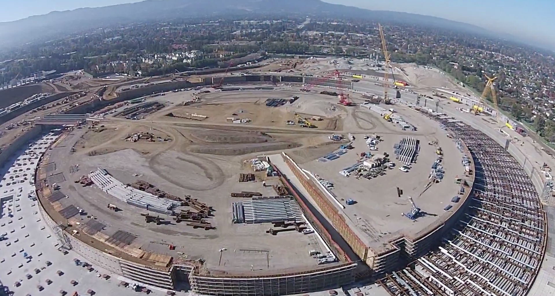High Def Drone Footage Shows ISpaceship Progress